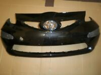 TOYOTA AYGO FRONT BUMPER IN BLACK 2005 - 2009