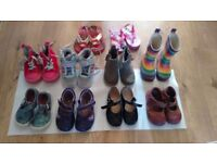 Toddler girl shoes Clark's and Gap