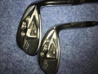 Taylormade ztp 54 and 60 degree wedges