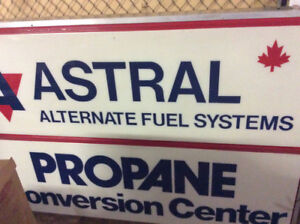 ASTRAL Alternate Fuel Systems SIGN