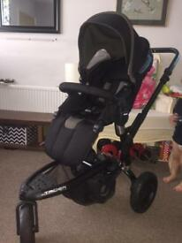 Jane Matrix Trider travel system black