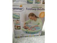 FoldAway Baby Bath (newborn to toddler)