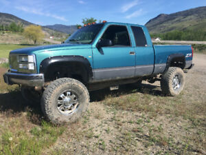 Lifted 1998 Chevrolet 4x4
