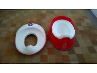 Baby Bjorn Toilet Seat Trainer and Potty