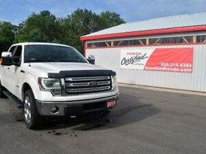 2013 Ford F-150 Lariat 4x4 SuperCrew Cab 6.5 ft. box 157 in. WB