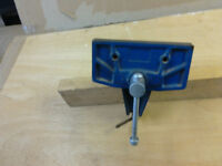 woodworking vise portable or fixed 150mm.