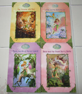 4x Assorted Disney Fairies chapter books (ages 9-12)