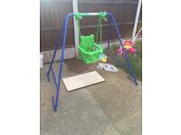 Baby Swing Good Condition Hardly Used £30 lat Price