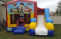 bouncy castles ball pit face painting balloon twisting/animall