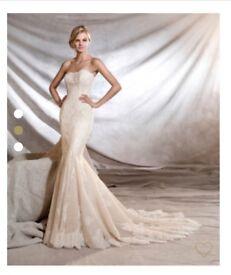 Pronovias Orinoco Wedding Dress Size 8/10