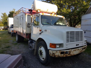 Need It Gone! 1999 International 4700 T444E Duct Cleaning truck