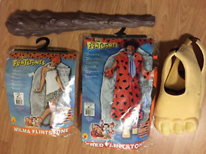 Fred and Wilma Flintstone Costumes