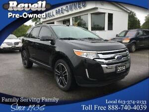 2014 Ford Edge Limited AWD  *Moonroof  Leather  Nav  Sport pkg