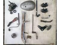 Job Lot Vintage Classic Motorcycle Parts - Ariel BSA Triumph Norton Honda Yamaha.