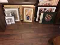 Joblot / Job lot of Pictures and Prints - 11 in total - ideal for car boot