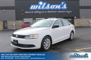 2012 Volkswagen Jetta TRENDLINE HEATED SEATS! POWER PACKAGE!