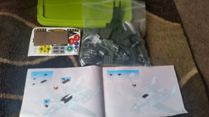 Fighter Jet building blocks
