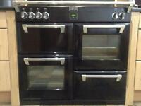 STOVES RICHMONDS 1000Ei induction cooker Black