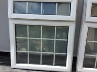 Two fire escape windows1020mm wide 2575 long