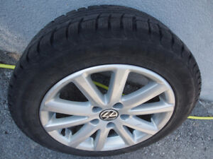 205/55 R16 Winter Tires and Rims *4 - Excellent Condition