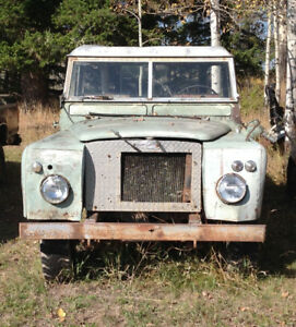 Land Rover 6 cylinder chev conversion
