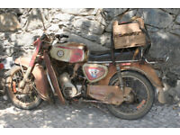 Wanted: BSA A65, Old motor bike or moped, or parts. Anything considered. Garage clearance, CASH PAID