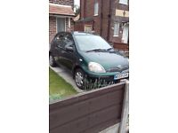 Toyota Yaris 1.3 CDX W Reg Green MOT March 2018