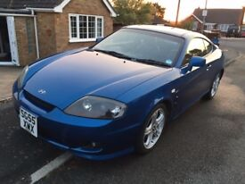 Low mileage rare Hyundai Coupe 2.7 V6 manual