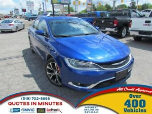 2016 Chrysler 200 C | LEATHER | NAV | BACKUP CAM