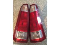 Meriva A rear lights