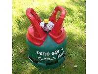 (23-07-17) NEW 5kg green Calor patio/bbq gas bottle