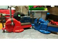 Wanted bench vices, record, paramo or parkinson garage clear outs cash paid