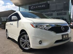 2012 Nissan Quest 1 Owner SL Backup Cam Leather Sunroof