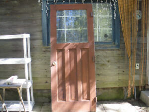 Vintage doors, cedar screen door,  $40 each