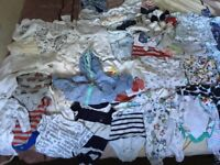 Baby boy clothes newborn and age 0-3 months