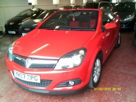 Vauxhall Astra 1.9CDTI 16V TWIN TOP SPORT 150PS (red) 2007