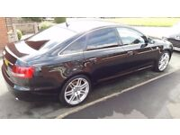 AUDI A6 2.7 TDI S LINE LE MANS SPECIAL EDITION ALL LEATHER SAT NAV 2007REG