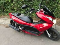 !LOW MILEAGE! 6K Miles BARGAIN 2012 Honda PCX 125 Scooter Moped Learner Legal WW 125 EXC-2 Commuter
