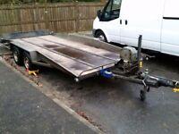Bateson 2 ton galvanized tilt trailer