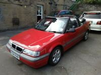 Rover 214 Cabriolet Stunning Condition 1992