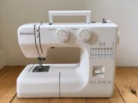 JL110 Sewing Machine, White