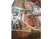 Michael Jackson newspapers