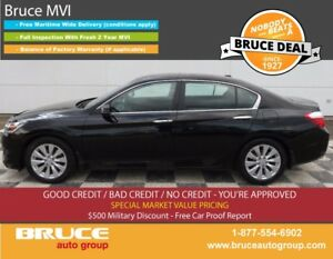 2013 Honda Accord Ex-L 2.4L 4 CYL I-VTEC CVT FWD 4D SEDAN