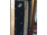 Black saree only £13