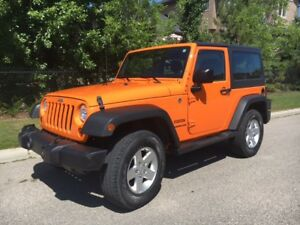 2012 Jeep Wrangler Sport (Low KM)