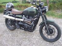 Triumph Scrambler 900 Motorcycle