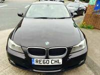 BMW 320D Eff/Dynamics 2010 Black 4 Door 1yr mot finance available