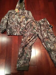 New Insulated Hunting Pants & Jacket Size XLRG