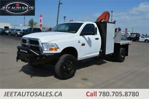 2011 Dodge Ram 3500 4X4 Dually Picker Crane 6 Speed Manual Diese