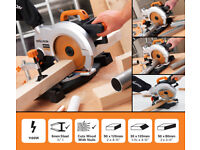 RAGE3-B 210mm TCT Multipurpose Mitre Saw Cuts Steel, Aluminium & Wood with only one blade!